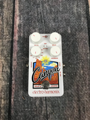 electro-harmonix pedal Electro-Harmonix Canyon Delay and Looper Pedal