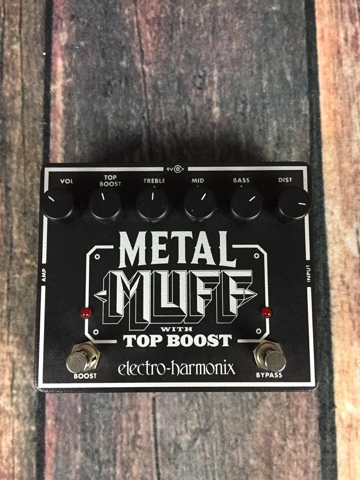 electro-harmonix pedal Electro-Harmonix Metal Muff Distortion with Top Boost