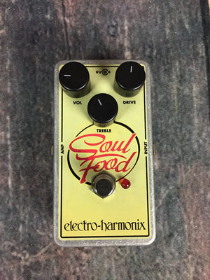 electro-harmonix pedal Electro-Harmonix Soul Food Overdrive/Fuzz/Distortion/Clean Boost Pedal