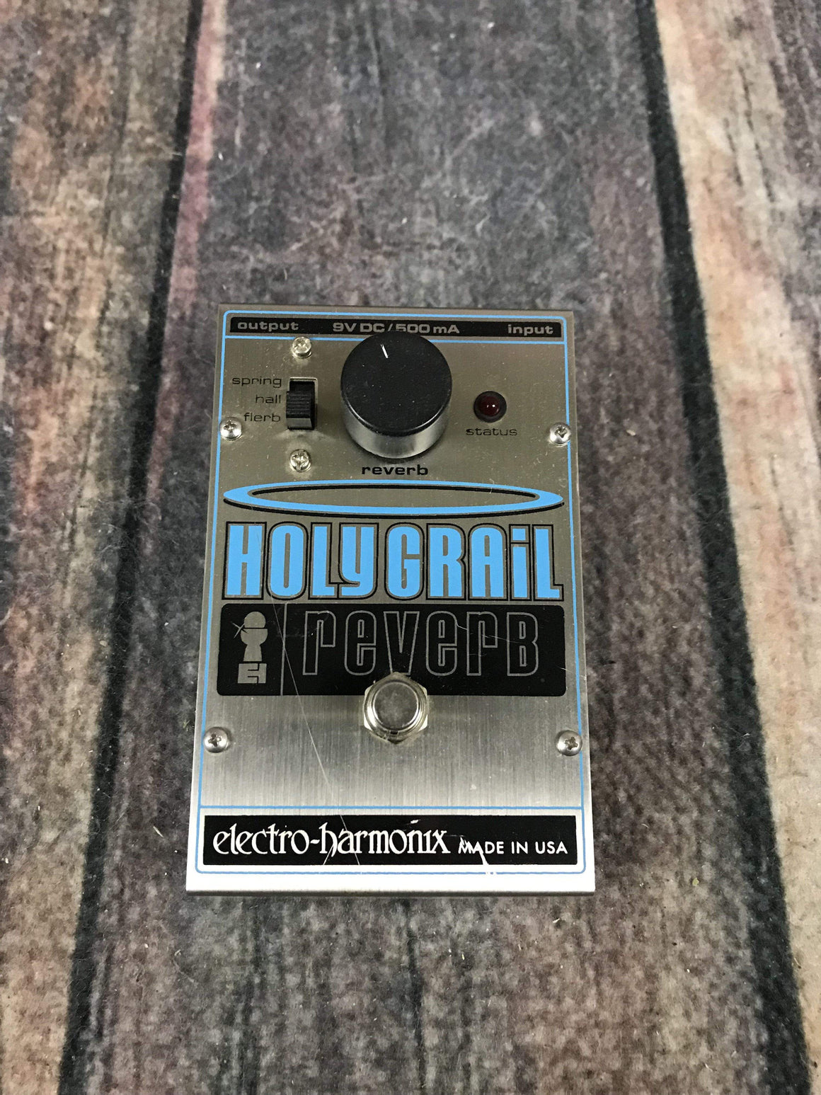 electro-harmonix pedal Used Electro-Harmonix EHX Holy Grail Reverb with Box