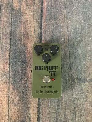 electro-harmonix pedal Used Electro-Harmonix Green Russian Big Muff Distortion/Sustainer Pedal
