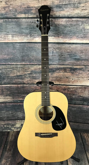 Epiphone Acoustic Guitar Epiphone DR Acoustic Autographed by Tim McGraw with COA
