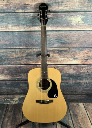 Epiphone Acoustic Guitar Used Epiphone DR-100N Acoustic Guitar with Gig Bag