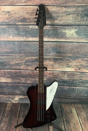 Epiphone Electric Bass Used EpiphoneThunderbird IV 4 String Electric Bass with Epiphone Hard Shell Case