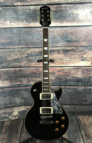 Epiphone Electric Guitar Used Epiphone 2008 Les Paul Standard Ebony with Case