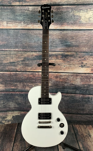 Epiphone Electric Guitar Used Epiphone Les Paul Special II Electric Guitar with gig bag- Alpine White