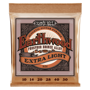 ernie ball Acoustic Guitar Strings Ernie Ball Earthwood Extra Light Phosphor Bronze Acoustic Guitar Strings
