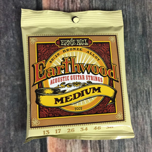ernie ball Acoustic Guitar Strings Ernie Ball Earthwood Medium 80/20 Bronze Acoustic Guitar Strings