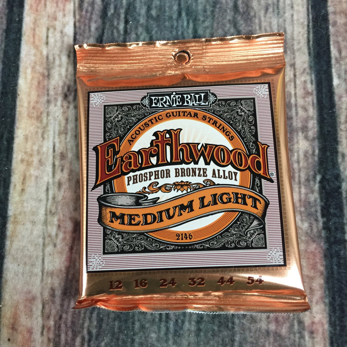 ernie ball Acoustic Guitar Strings Ernie Ball Earthwood Medium Light Phosphor Bronze Acoustic Guitar Strings