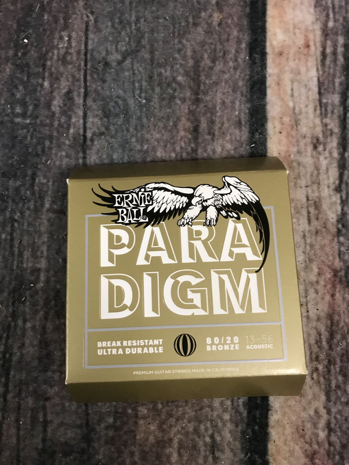 ernie ball Acoustic Guitar Strings Ernie Ball Paradigm Medium 80/20 Bronze Acoustic Guitar Strings 13-56