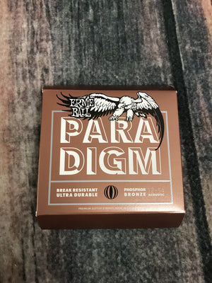 ernie ball Acoustic Guitar Strings Ernie Ball Paradigm Medium Light Phosphor Bronze Acoustic Guitar Strings 12-54