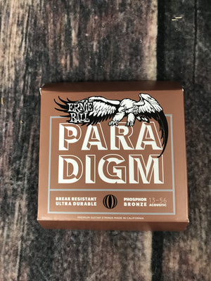 ernie ball Acoustic Guitar Strings Ernie Ball Paradigm Medium Phosphor Bronze Acoustic Guitar Strings 13-56