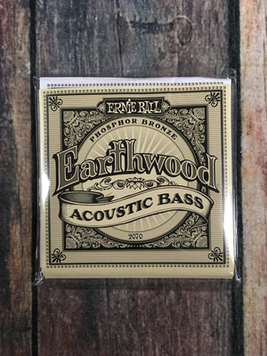 ernie ball Bass Strings Ernie Ball Earthwood Phosphor Bronze Acoustic Bass Strings