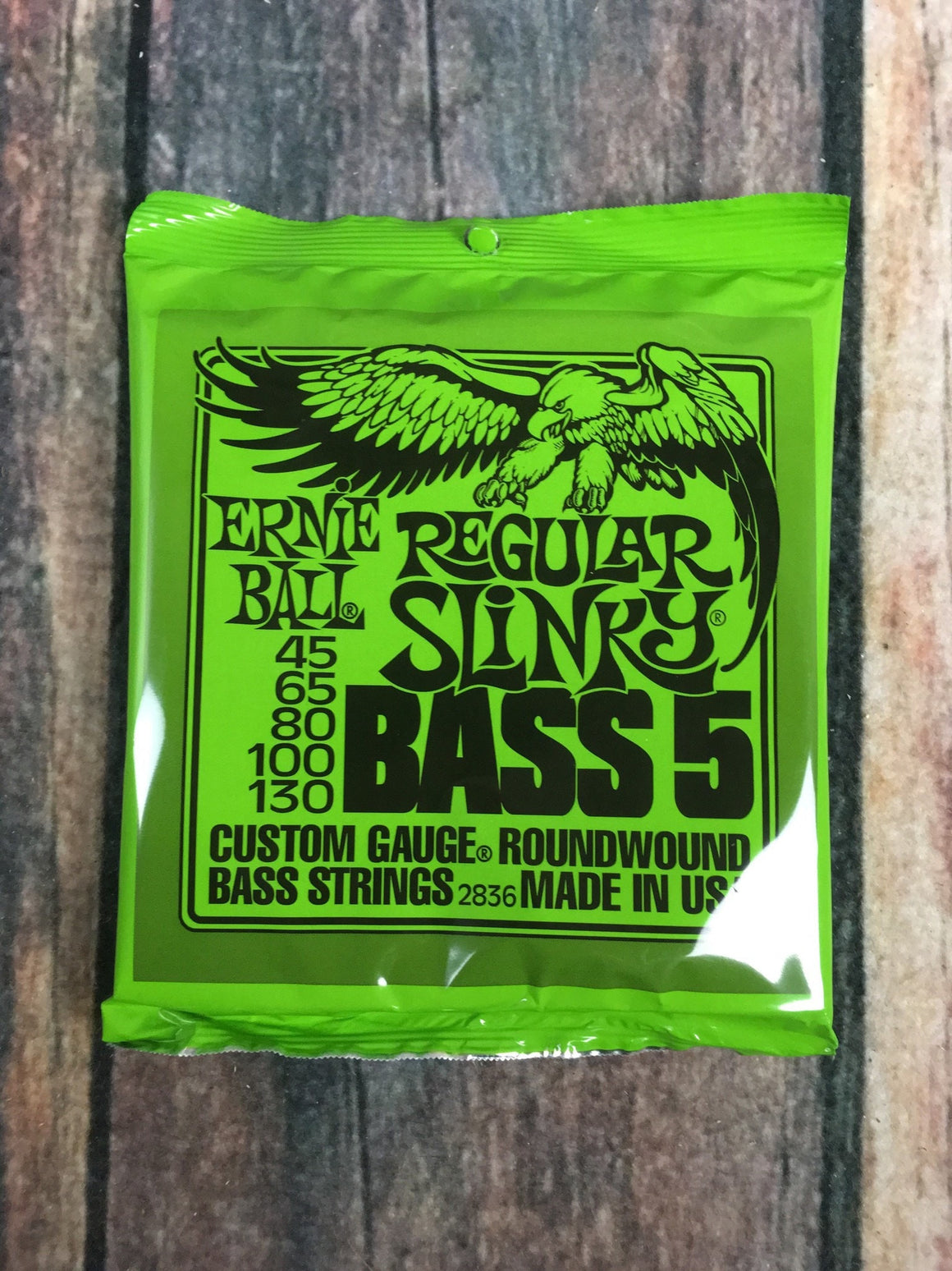 ernie ball Bass Strings Ernie Ball Regular Slinky 5 String Nickel Wound Bass Strings