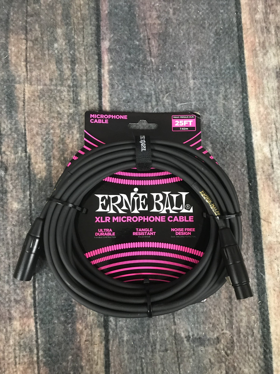 ernie ball Cable Ernie Ball P06073 25' Male / Female XLR Microphone Cable