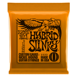 ernie ball Electric Guitar Strings Ernie Ball Hybrid Slinky Nickel Wound Electric Guitar Strings
