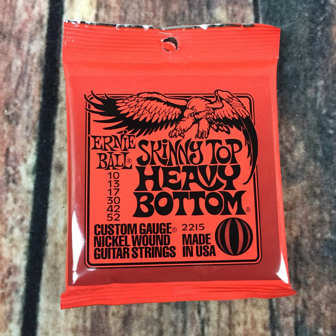 ernie ball Electric Guitar Strings Ernie Ball Skinny Top Heavy Bottom Nickel Wound Electric Guitar Strings