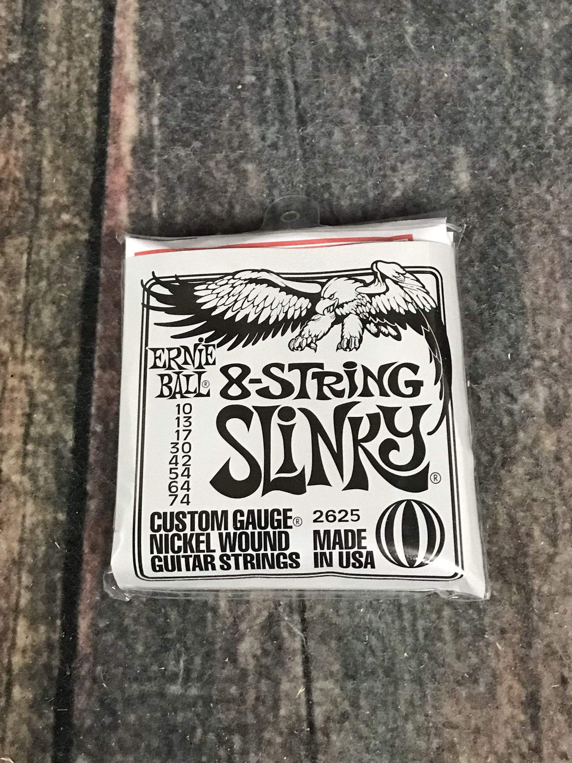 ernie ball Electric Guitar Strings Ernie Ball Slinky Nickel Wound 8 String Electric Guitar Strings