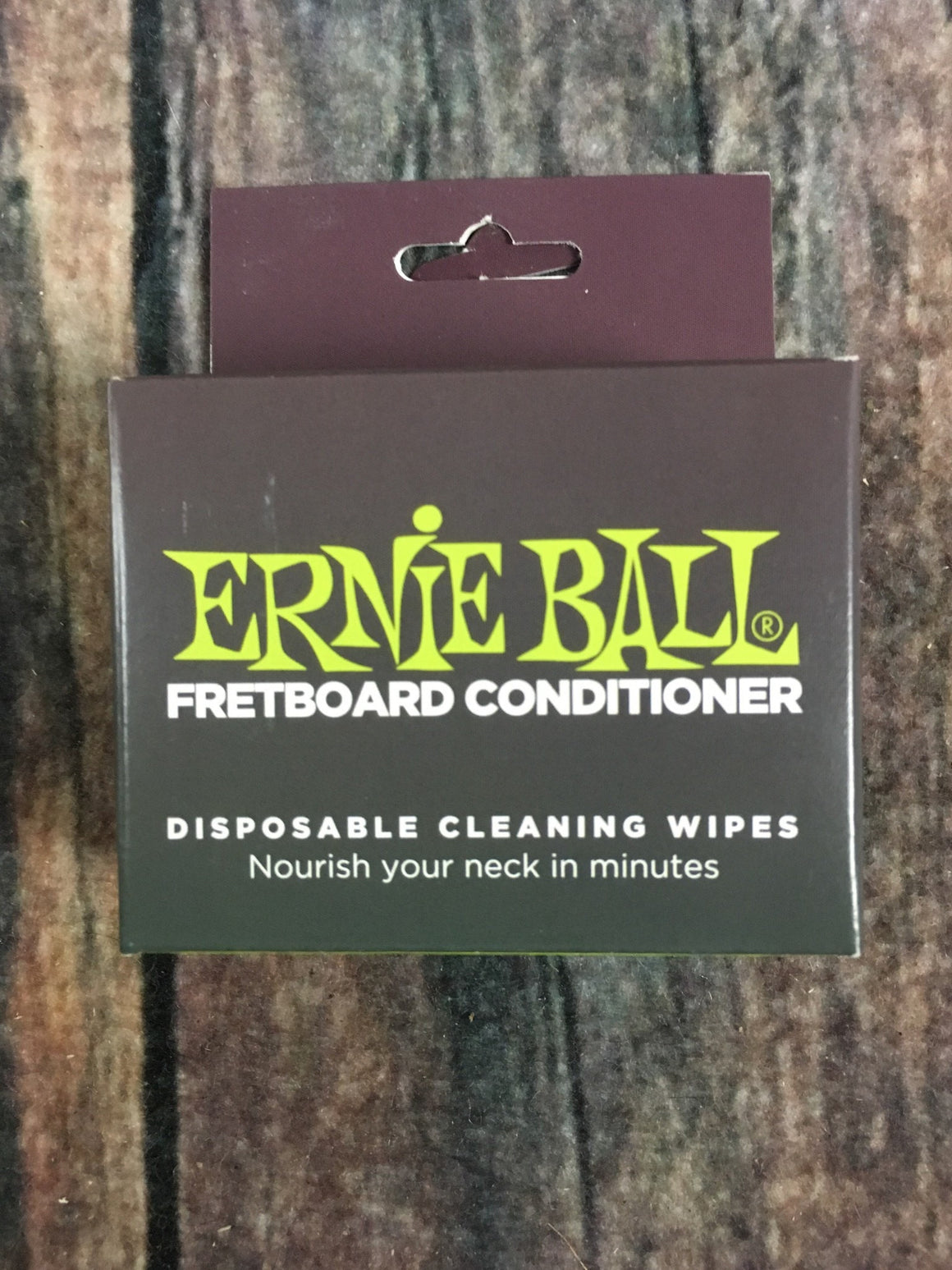 ernie ball Polish Cloth Ernie Ball Wonder Wipes Fretboard Conditioner 6 Pack