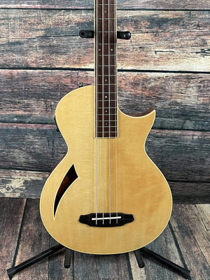 ESP/LTD Acoustic Electric Bass ESP/LTD TL-4 Acoustic Electric Thin Body Bass Guitar- Natural