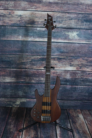 ESP/LTD Electric Bass Bass Only ESP/LTD Left Handed D-4 Electric Bass