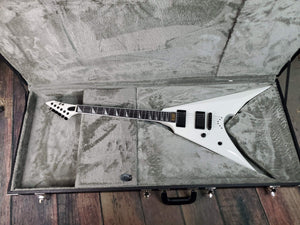 ESP/LTD Electric Guitar ESP Left Handed E-II Arrow-NT Electric Guitar - Snow White
