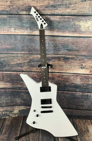 ESP/LTD Electric Guitar ESP/LTD Left Handed James Hetfield Snakebyte electric guitar- White