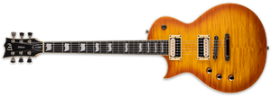 ESP/LTD Electric Guitar ESP/LTD Left Handed LEC1000TFMHBSFLH EC-1000T Electric Guitar- Honey Burst Satin