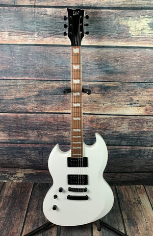 ESP/LTD Electric Guitar ESP/LTD Left Handed LViper256SWLH Viper-256 Double Cutaway Electric Guitar- Snow White