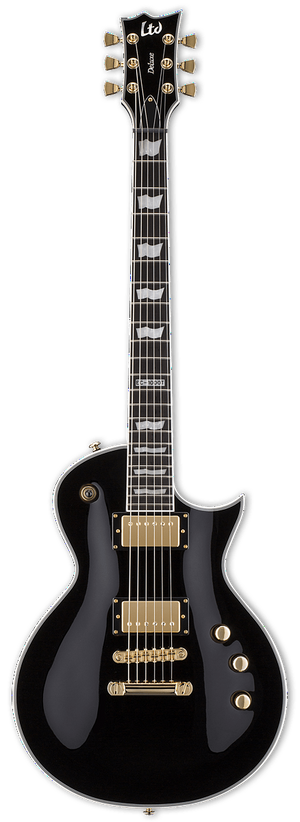 ESP/LTD Electric Guitar ESP/LTD Right Handed  EC-1000T/CTM DIMARZIO Electric Guitar - Black