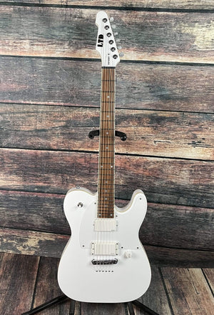 ESP/LTD Electric Guitar ESP/ LTD TED-600T SW Ted Aguilar Signature Series Electric Guitar - Snow White