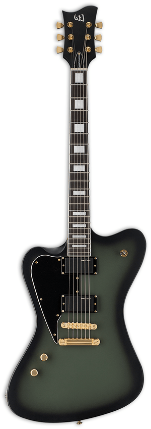ESP/LTD Electric Guitar Guitar and case ESP/LTD Left handed Sparrowhawk Bill Kelliher Signature Series Electric Guitar