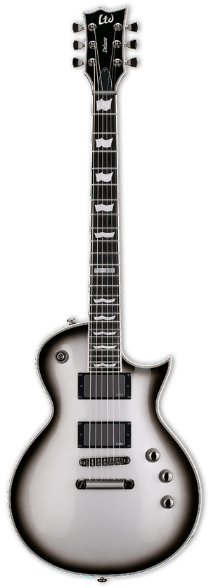 ESP/LTD Electric Guitar Guitar Only ESP/LTD Right Handed EC-1000 Electric Guitar Silver Sunburst