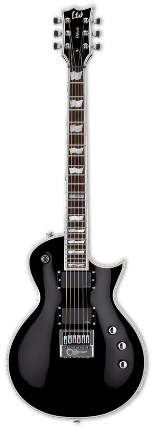 ESP/LTD Electric Guitar Guitar Only ESP/LTD Right Handed EC-1000 Evertune Electric Guitar- Black