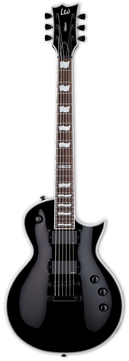 ESP/LTD Electric Guitar Guitar Only ESP/LTD Right Handed EC-1000S EMG Electric Guitar Black