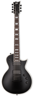 ESP/LTD Electric Guitar Guitar Only ESP/LTD Right Handed EC-407 Electric Guitar Black Satin
