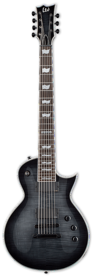 ESP/LTD Electric Guitar Guitar Only ESP/LTD Right Handed EC-407B FM Electric Guitar See Thru Black Sunburst