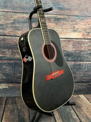 Esteban Acoustic Guitar Used Esteban 2008 Impala 50th Anniversary Acoustic Electric Guitar with Case
