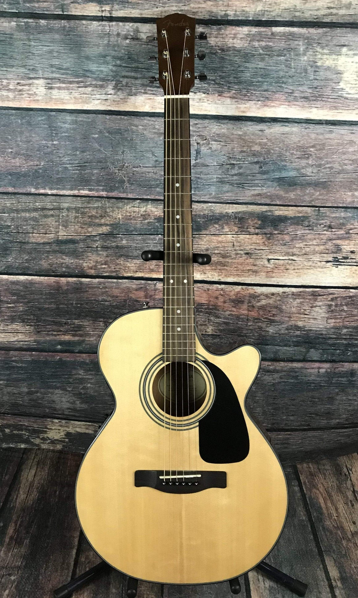 Fender Acoustic Guitar Used Fender GC140SCE Folk Size Acoustic Electric Guitar with Gig Bag
