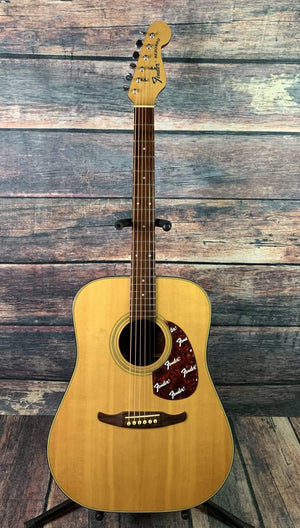 Fender Acoustic Guitar Used Fender Redondo Korean Built Dreadnought Acoustic Guitar with Fender Case