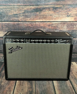 Fender Amp Used Fender '65 Deluxe Reverb Reissue Tube Combo Amp with Fritz Mod and Fender Cover