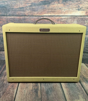 Fender Amp Used Fender Blues Deluxe Reissue Tweed Guitar Tube Combo Amp with Cover