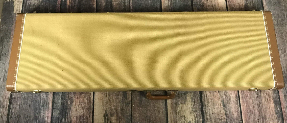 Fender Electric Bass Case Used Fender Tweed Electric Bass Hard Shell Case