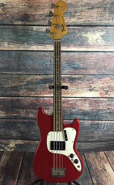 Fender Electric Bass Used Fender 1971 Musicmaster 4 String bass with Hard Shell Case