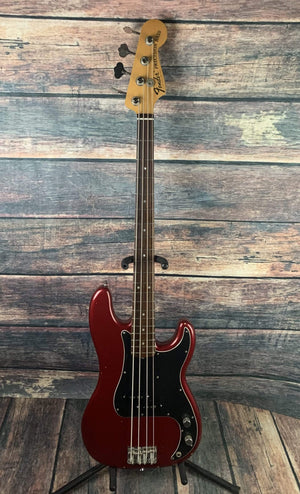 Fender Electric Bass Used Fender Nate Mendel Artist Series Signature Road Worn Precision Bass with Gator Case
