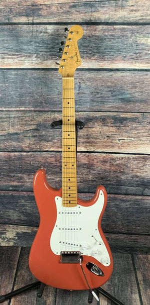 Fender Electric Guitar Used Fender 1994 '57 Reissue AmerIcan Vinage Stratocaster With Fender Case- Fiesta Red