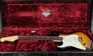 Fender Electric Guitar Used Fender 2006 Left Handed USA 60th Anniversary Stratocaster with Case - Sunburst