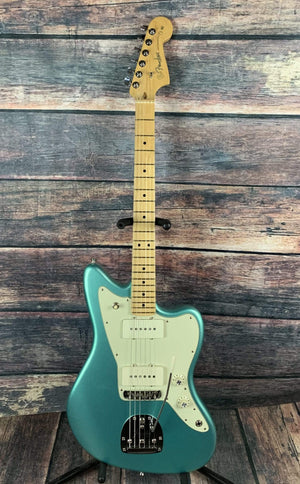 Fender Electric Guitar Used Fender 2017 American Professional Jazzmaster with Fender Case- Mystic Seafoam