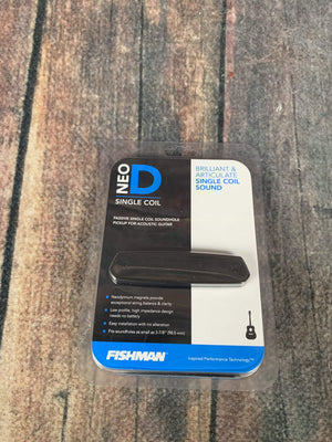 Fishman Pickup Fishman Neo-D Magnetic Soundhole Pickup Single Coil