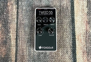 FoxGear pedal FoxGear Tweed 55 Guitar Amplifier Pedal